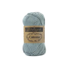 Scheepjes Catona 25 gram 528 Silver Blue