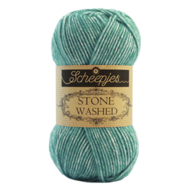 Stone Washed 824 Turquoise - Scheepjes
