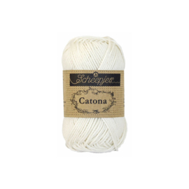Scheepjes Catona 25 gram 105 Bridal White