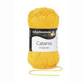 Catania katoen 208 Kanariegeel