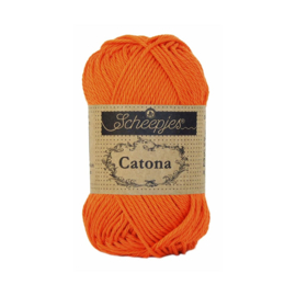 Scheepjes Catona 50 gram 189 Royal Orange