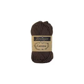 Scheepjes Catona 10 gram 162 Black Coffee