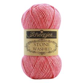 Stone Washed 835 Rhodochrosite - Scheepjes