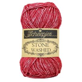 Stone Washed 807 Red Jasper - Scheepjes