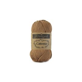 Scheepjes Catona 10 gram 503 Hazelnut