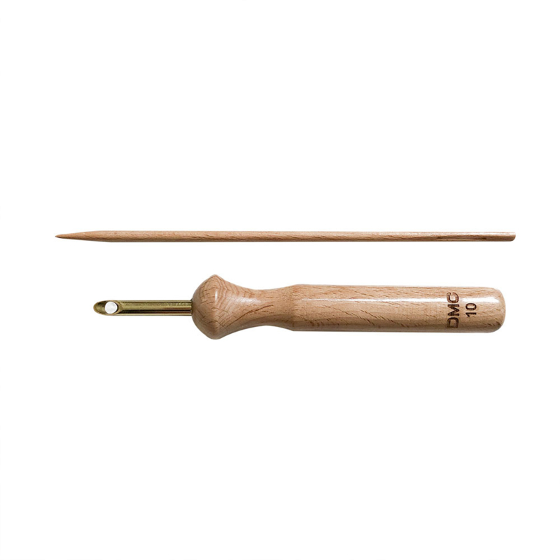 Punch needle van DMC maat 10