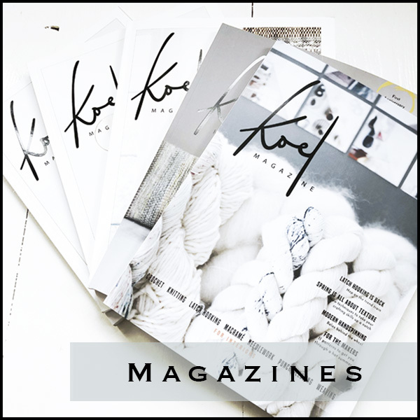 Magazines for crafting