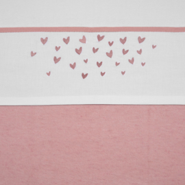 Meyco ledikant lakentje | HEARTS