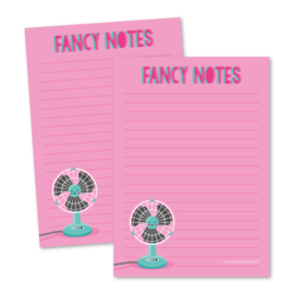 Notitieblok A6 | Fancy notes