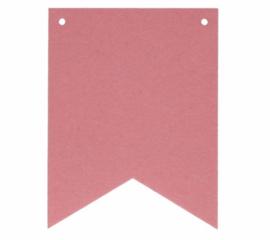 Naam slinger vlaggetjes | Roze Punt