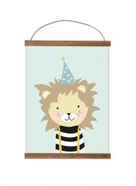 Poster A3 | Kleine Leeuw