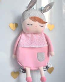 Metoo Angela doll rugzak - ROZE