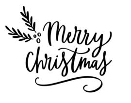 Raamsticker | Merry Christmas