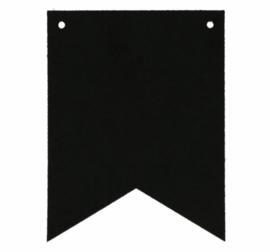 Naam slinger vlaggetjes | Zwart Punt