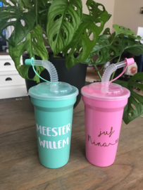 DIY stickers voor juf of meester