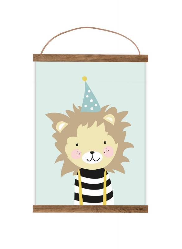 Poster A3   Kleine Leeuw