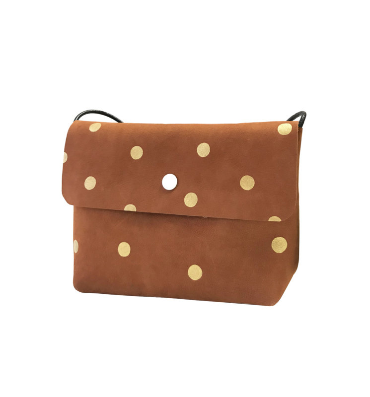 ARIZONA RANCHO - BROWN & GOLD DOTS