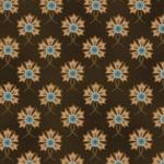 Fiddlesticks and Fancies - klein bruin bloemetje met teal