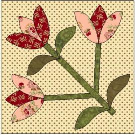 Flowers of Hope - blok 2 (per post)