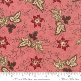 Harriet's_Roze met bloem en blaadjes