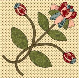 Flowers of Hope - blok 8 (per post)