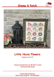 Stamp & Patch - Little Hexie Flower