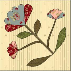 Flowers of Hope - blok 4 (per post)