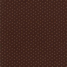 Donker bruin met stipjes
