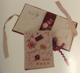 Naaldenboekje 6 x 8 cm (set van 2)