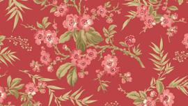 LSH_Rood met kersenbloesemtak roze