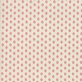 Chafarcani - Ecru met roze/rood wybertje