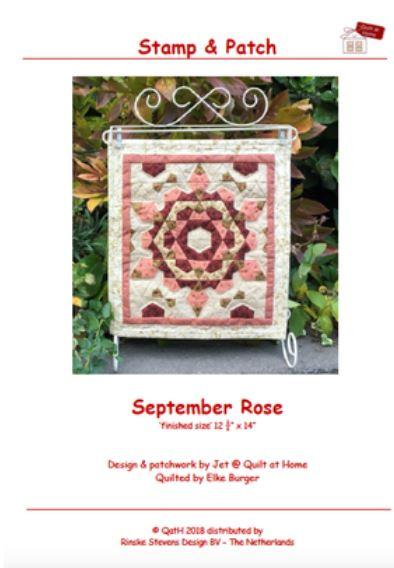 Stamp & Patch - September Rose