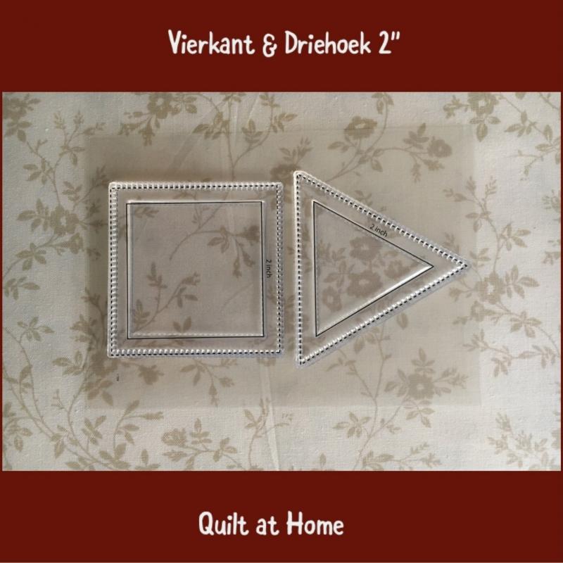 """Vierkant & driehoek 2"""""""