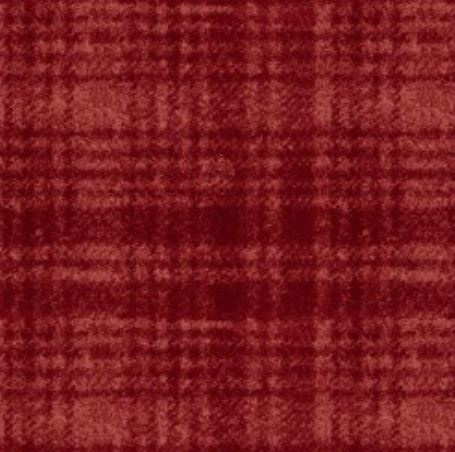 Flanel - rood ruit groot