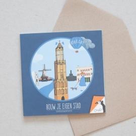 Bouw je eigen stad - Utrecht | verkoopprijs € 5,95