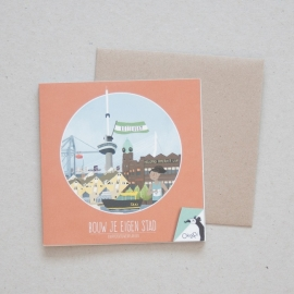 Bouw je eigen stad - Rotterdam | verkoopprijs € 5,95