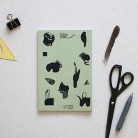 Schrift limited edition | Helehelena | groen