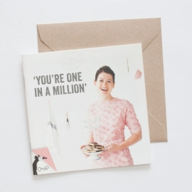 You're one in a million | verkoopprijs € 5,95