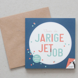 Voor de jarige Job/Jet | verkoopprijs € 5,95