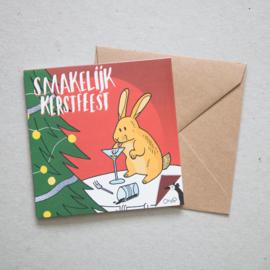 Smakelijk kerstfeest | verkoopprijs € 5,95