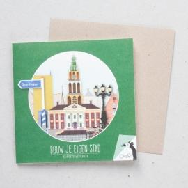 Bouw je eigen stad - Groningen | verkoopprijs € 5,95