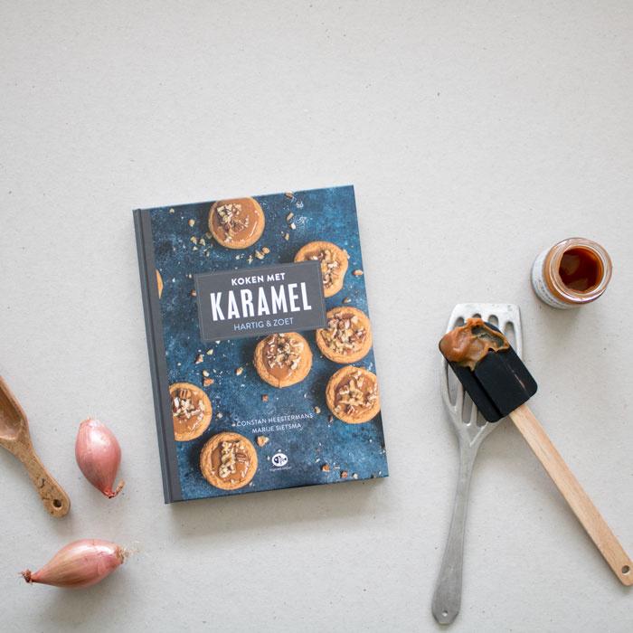 Koken met karamel | verkoopprijs € 17,99