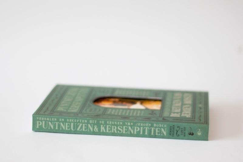 Puntneuzen en kersenpitten - verhalen en recepten uit de keuken van Jeroen Bosch | verkoopprijs € 27,50