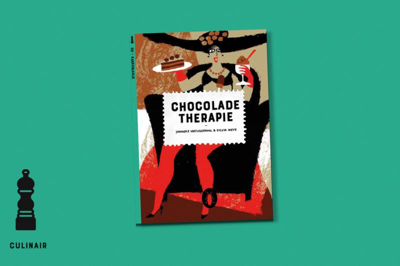 Chocoladetherapie   set van 6   verkoopprijs per stuk € 6,99