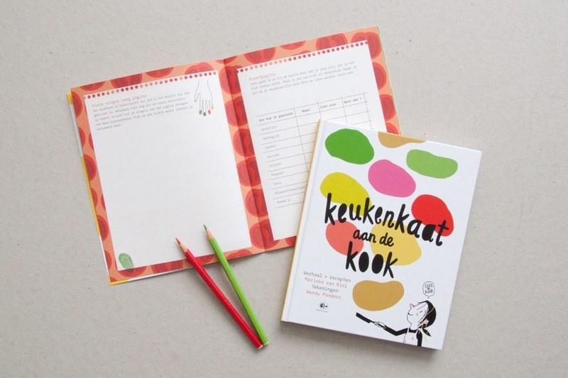 Keukenkaat doeschrift  | verkoopprijs € 2,50