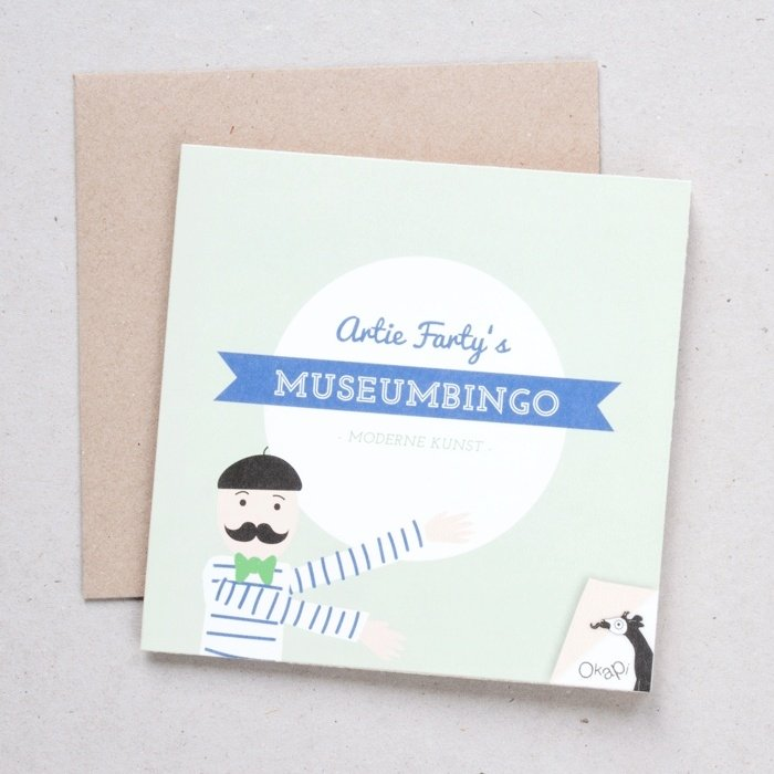 Museumbingo moderne kunst | verkoopprijs € 5,95