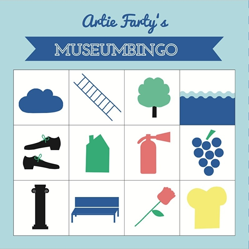 Museumbingo klassieke kunst | verkoopprijs € 5,95