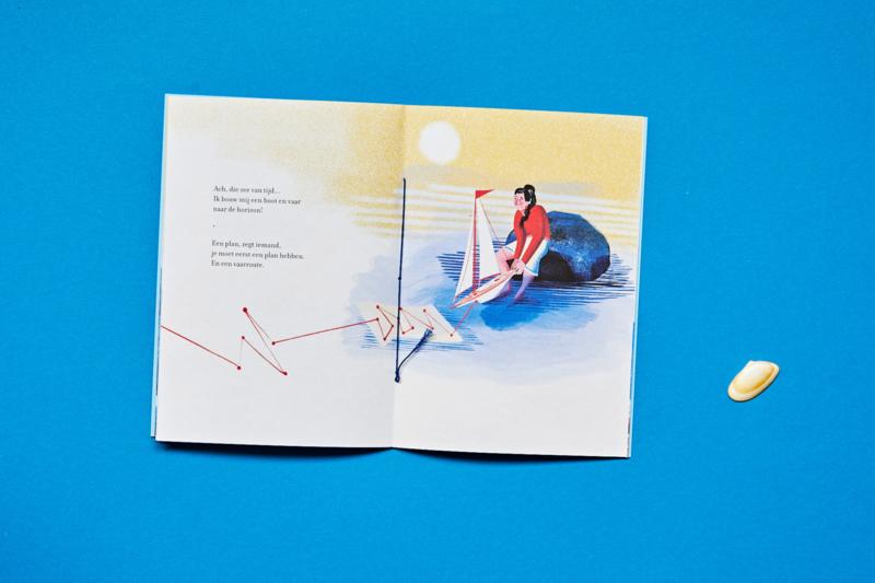 Die zee van tijd  |  set van 6 | verkoopprijs per stuk € 6,99