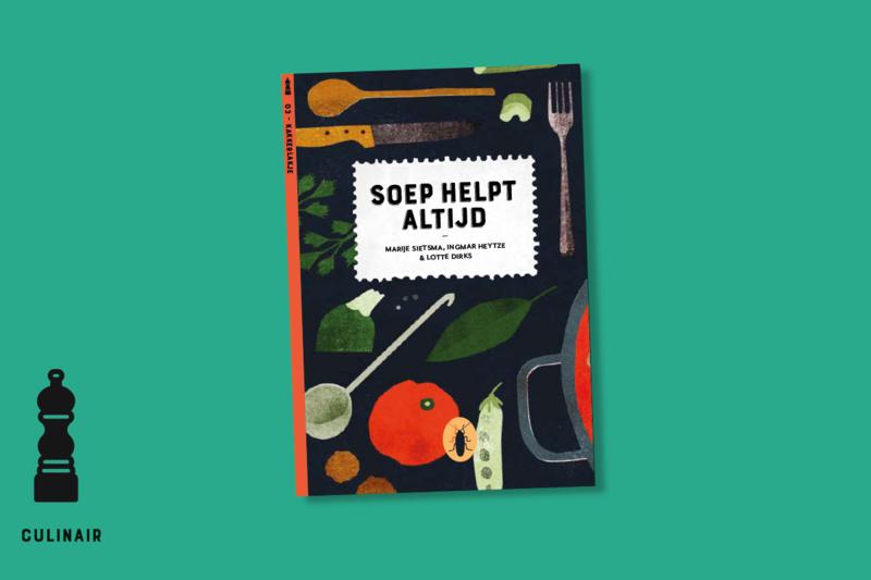 Soep helpt altijd | set van 6 | verkoopprijs per stuk € 6,99