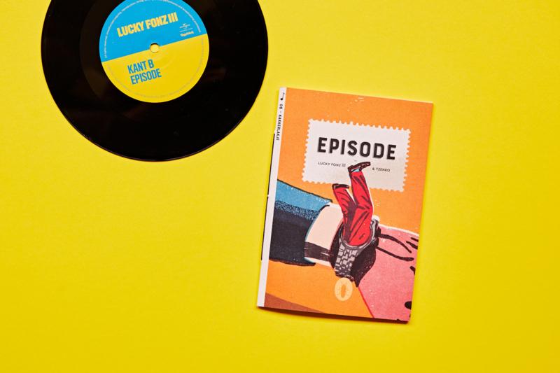 Episode |  set van 6 | verkoopprijs per stuk € 6,99